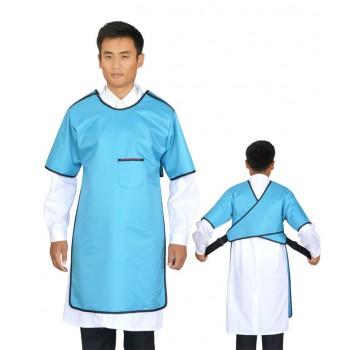 HB03铅胶衣(反穿半袖单面式)