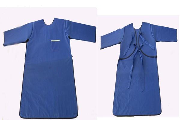 HB04反穿长袖单面式铅胶衣