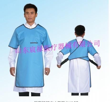 HC03反穿半袖单面式铅胶衣