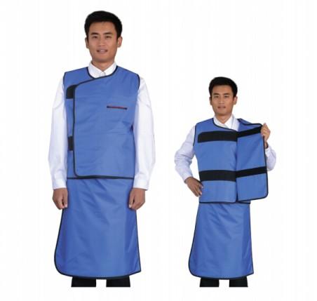HD05防护套裙(分体无袖双面)