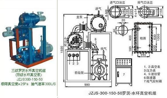 J2J2S罗茨水环机组