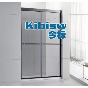 今标淋浴房厂家专业定制浴室玻璃隔断屏风移门洗手间推拉门