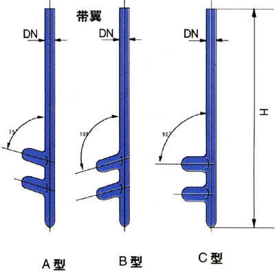 搪玻璃管套结构图