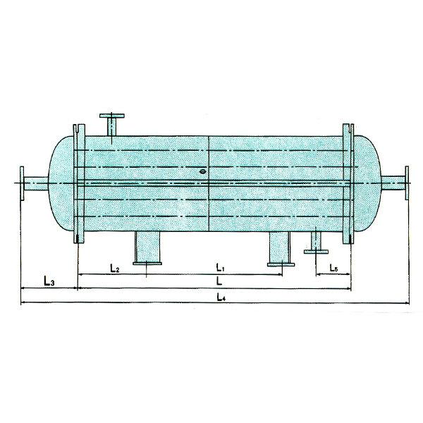 不锈钢、碳钢列管式换热器