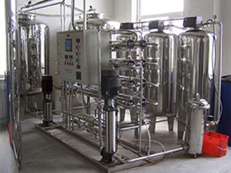 2T不锈钢反渗透水处理设备