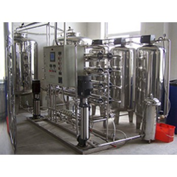 2T不銹鋼反滲透水處理設備