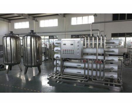 800T玻璃鋼反滲透水處理設備
