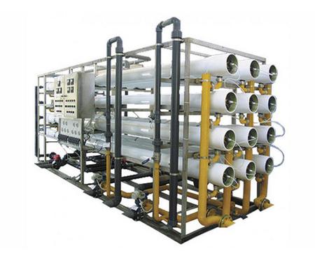 300T玻璃钢反渗透水处理设备