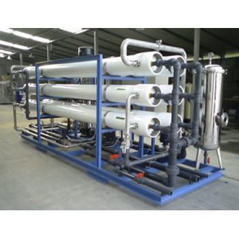 200T玻璃钢反滲透水處理設備