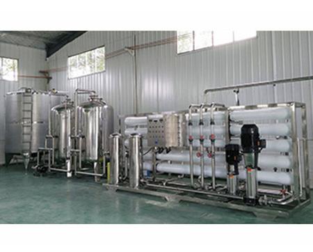 50T玻璃钢反渗透水处理设备