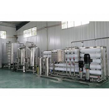 50T玻璃钢反滲透水處理設備