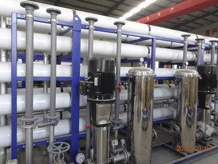 30T玻璃鋼反滲透水處理設備