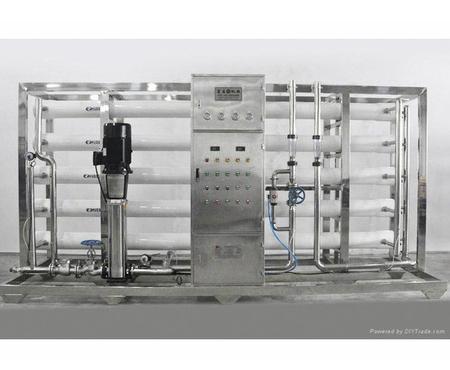 20T玻璃鋼反滲透水處理設備