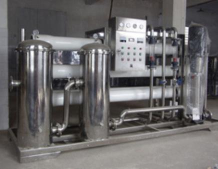 5T玻璃鋼反滲透水處理設備
