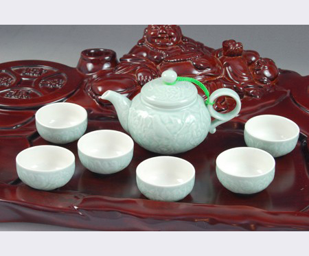 高档古风艺术茶具