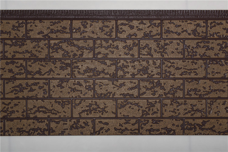 粗砖纹金属雕花板