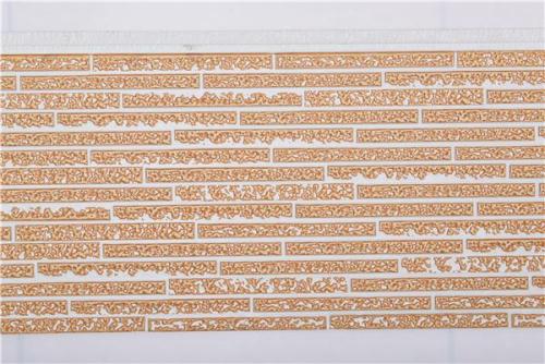 长条石纹金属雕花板