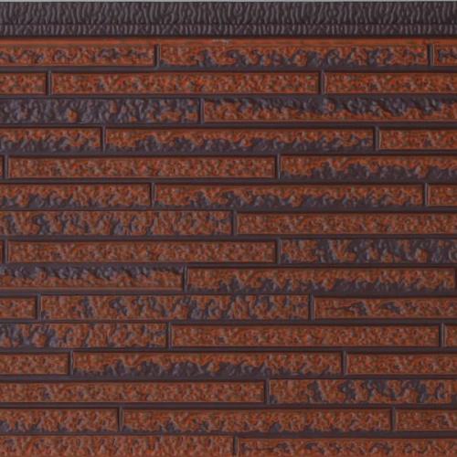 长条石纹金属雕花板2