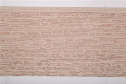 疊石紋金屬雕花板