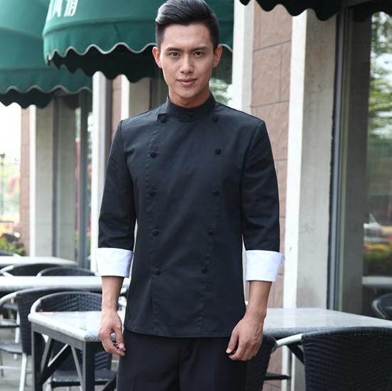 厨师服长袖秋装