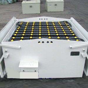 轨道牵引电机车蓄电池