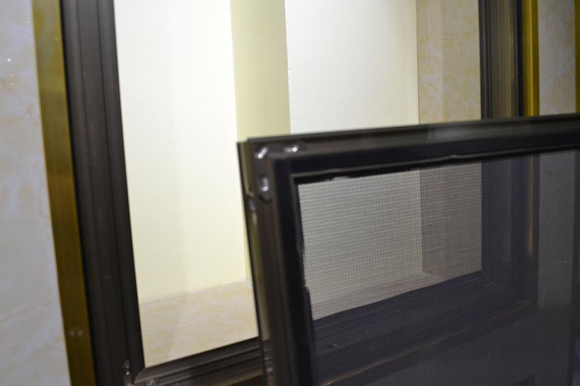 金刚网纱窗框中框B系列8