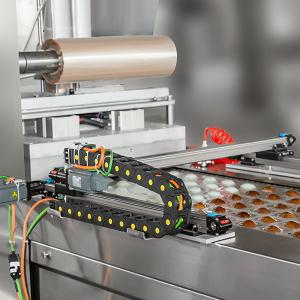 全自动连续圆角双面铝膜拉伸真空包装机