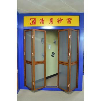 防盗纱门新型折叠门