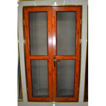 防盜紗門對開門(指紋鎖、對開)