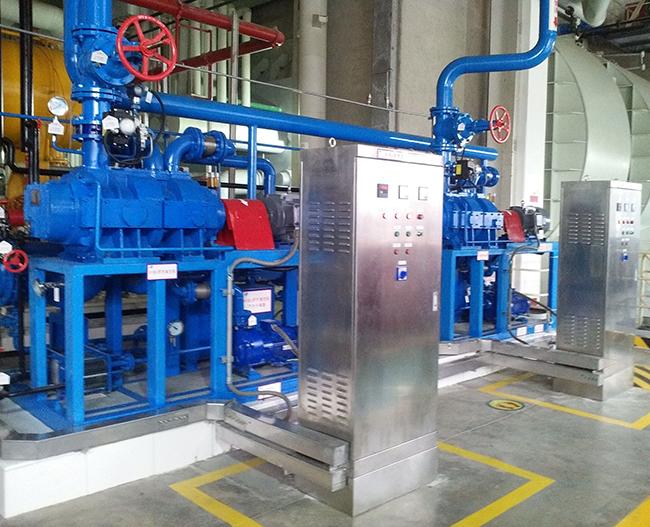 气冷罗茨泵机组