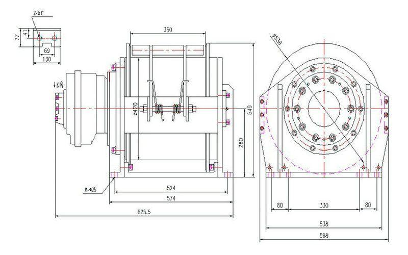 YS系列 液压绞车图纸1