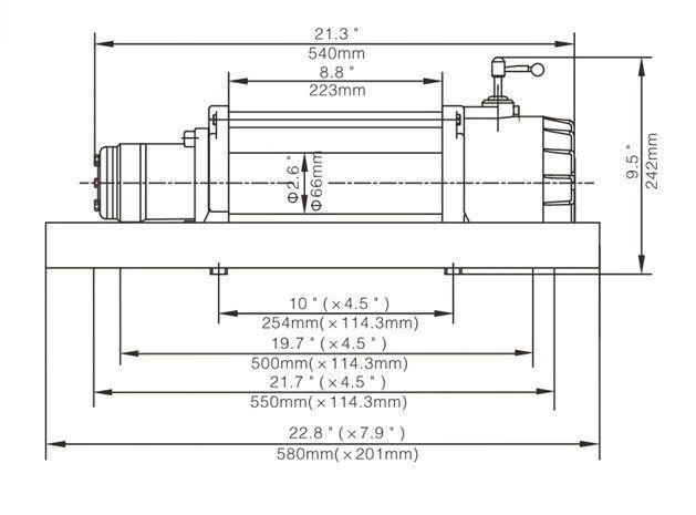 JP040型 液压绞盘图纸1