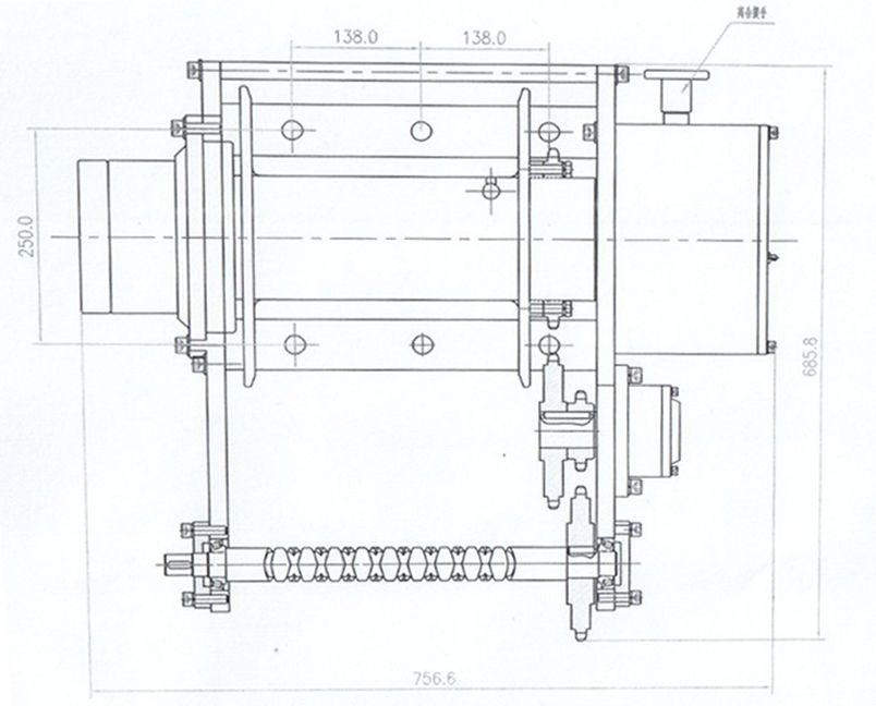 JP100P型 液压绞盘图纸1