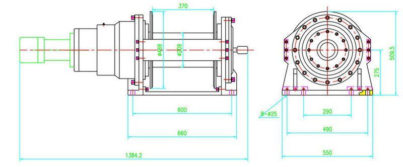 JP200型 液壓絞盤圖紙1