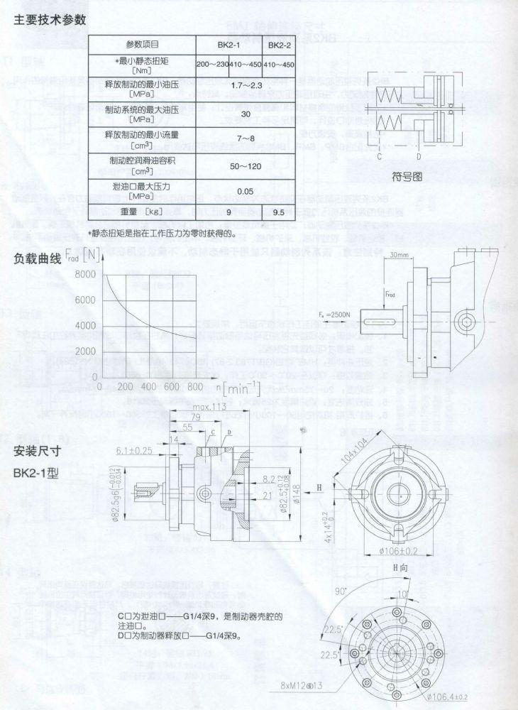 BK2-1型液压制动器 (2)
