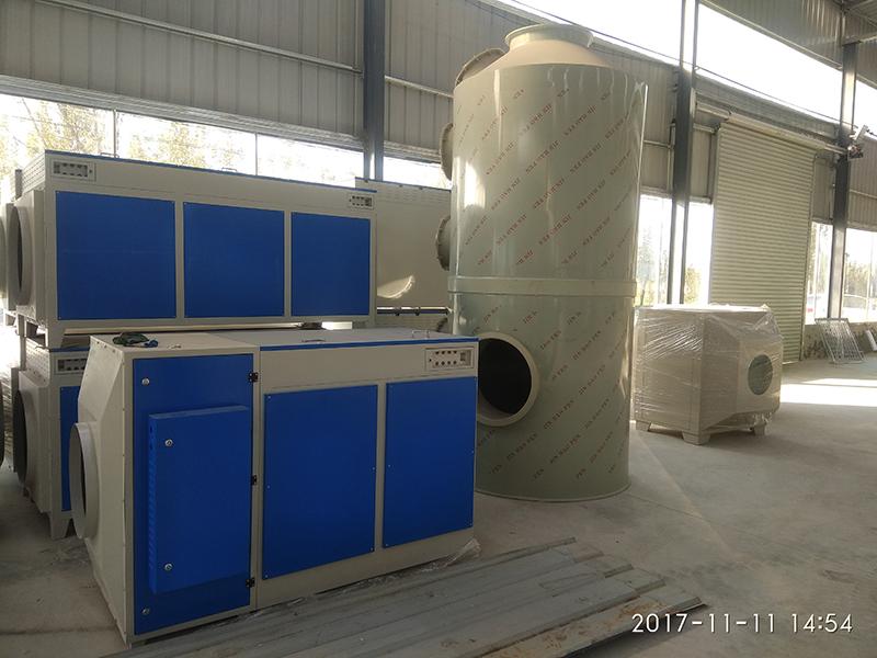 光氧廢氣處理設備 (2)