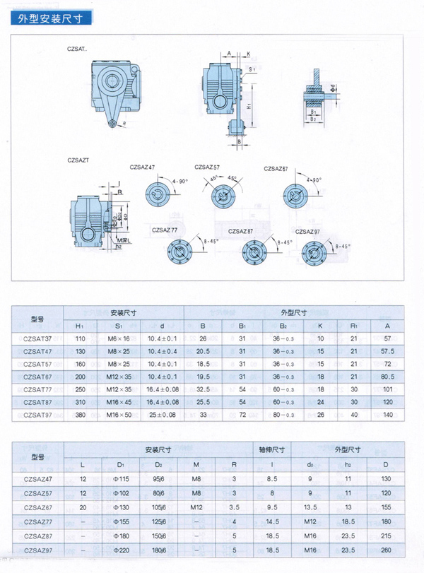 S系列斜齿轮-蜗轮蜗杆减速机2