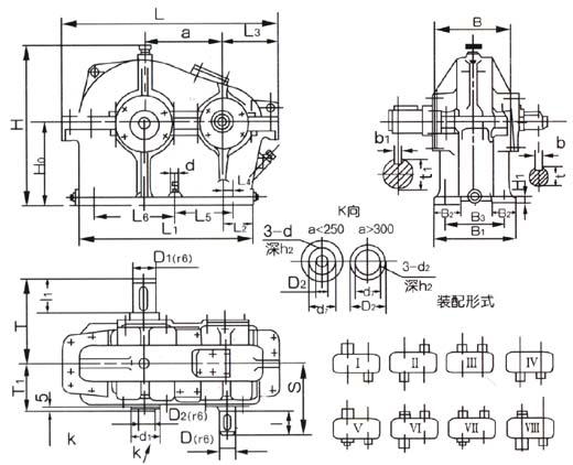 ZD型齒輪減速器327