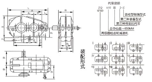 JZQ、ZQ、LQ、ZQH型齿轮减速器154