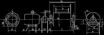 YZWⅡ、YDWⅡ型外裝式電動滾筒214