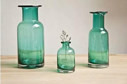 广口玻璃花瓶