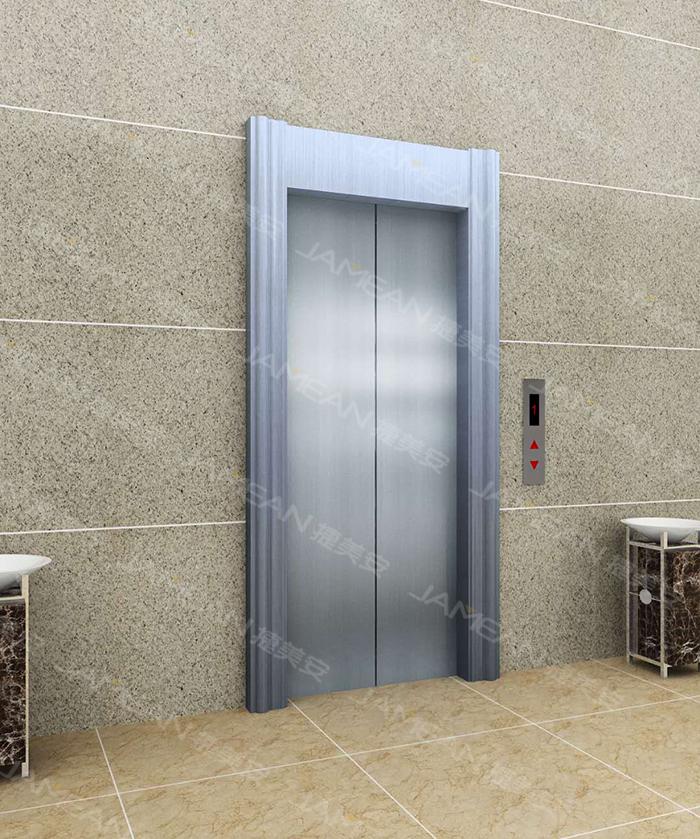 JM-506皓月銀電梯門套