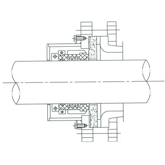 干磨型搪玻璃釜用機械密封