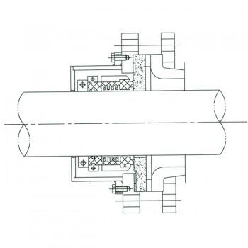 干磨型搪玻璃釜用机械密封