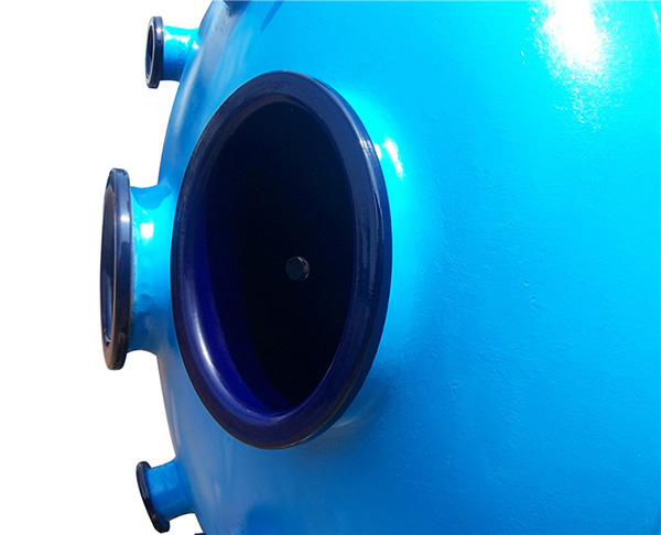 RF系列搪玻璃闭式反应釜
