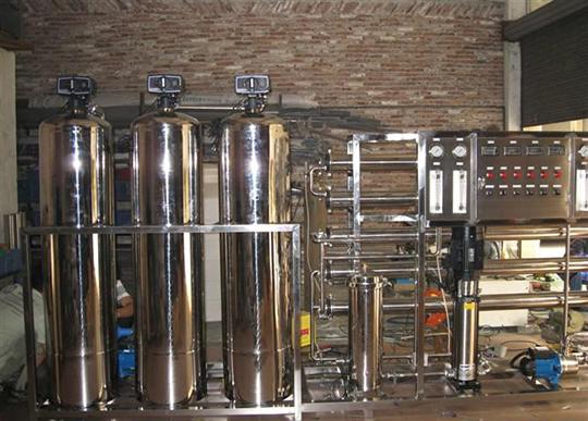 0.5T雙級反滲透凈水設備