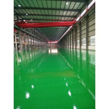 枣庄环氧树脂地坪漆厂家培训施工中