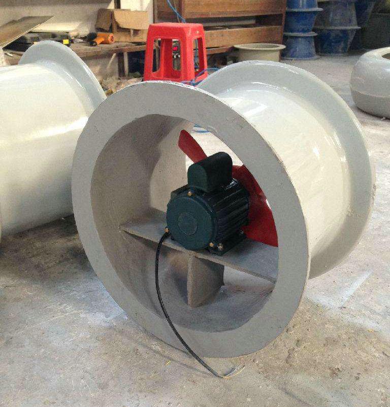 玻璃钢轴流风机 (2)