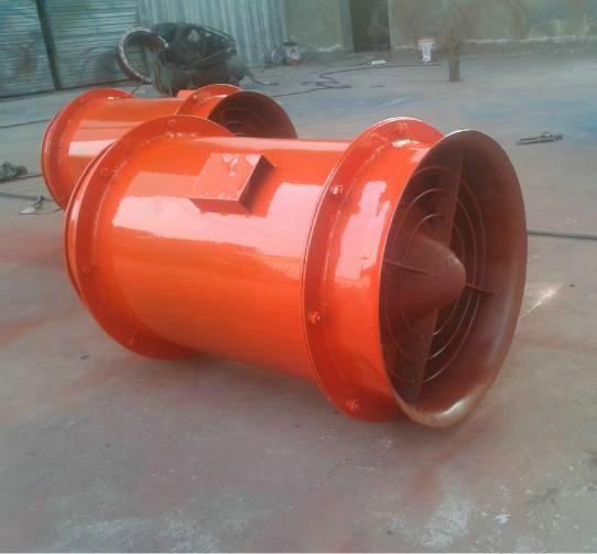 DJK型矿用节能对旋局扇风机