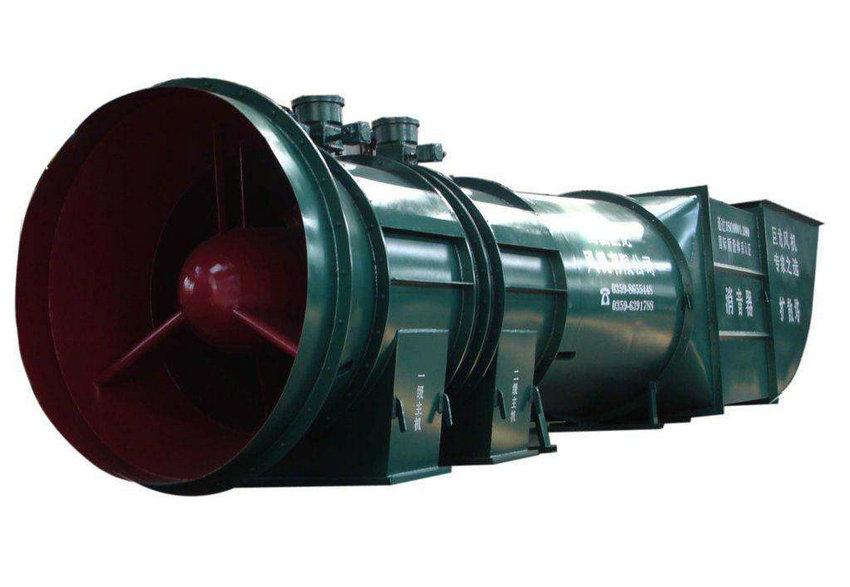 DK型矿用对旋主通风机 (2)